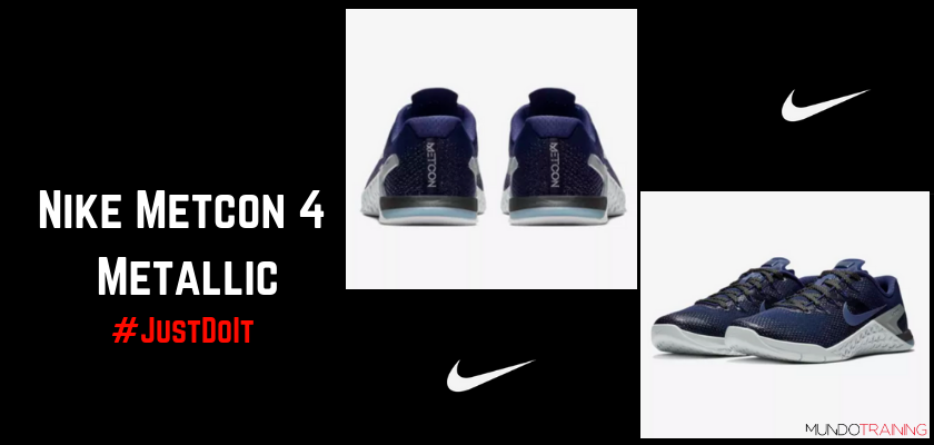 Nike Training: Colección Just Do it, Nike Metcon 4 Metallic