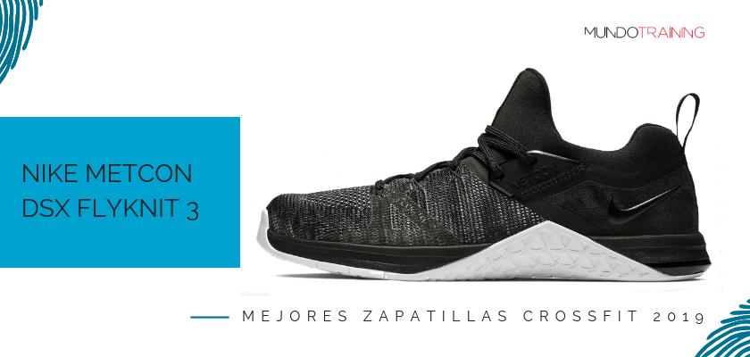 Las mejores zapatillas de crossfit 2019, Nike Metcon DSX Flyknit 3