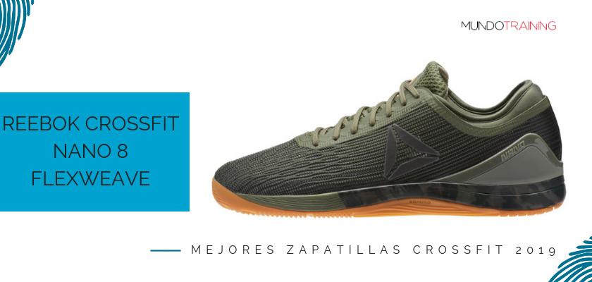 Las mejores zapatillas de crossfit 2019, Reebok Crossfit Nano 8 Flexweave