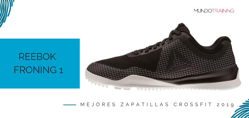 Las mejores zapatillas de crossfit 2019, Reebok Froning 1