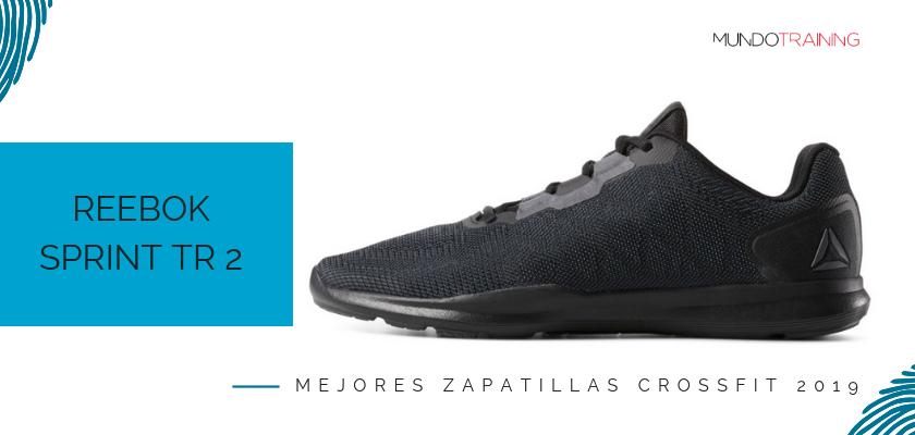 Las mejores zapatillas de crossfit 2019, Reebok Sprint TR 2