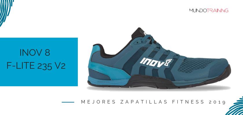 Las mejores zapatillas fitness 2019, Inov-8 F-LITE 235 V2