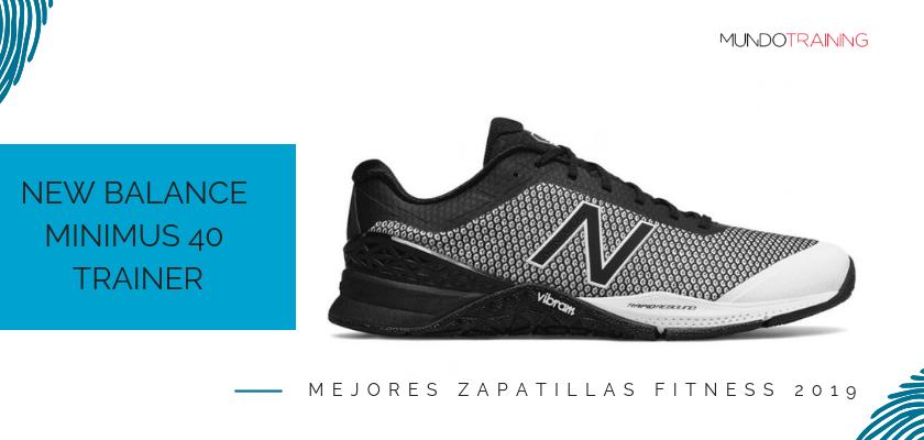 Las mejores zapatillas de fitness 2019, New Balance Minimus 40 Trainer