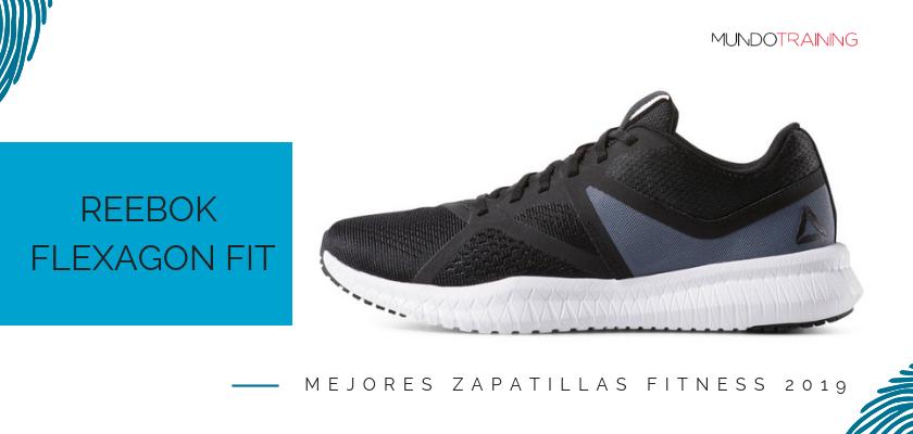 Las mejores zapatillas fitness 2019, Reebok Flexagon Fit