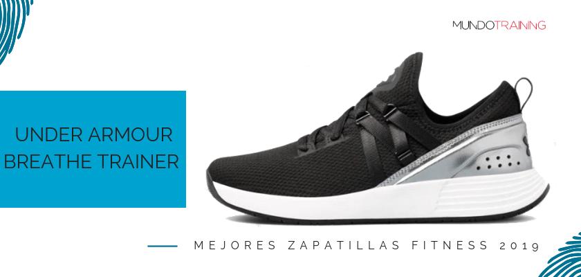 Las mejores zapatillas fitness 2019, Under Armour Breathe Trainer