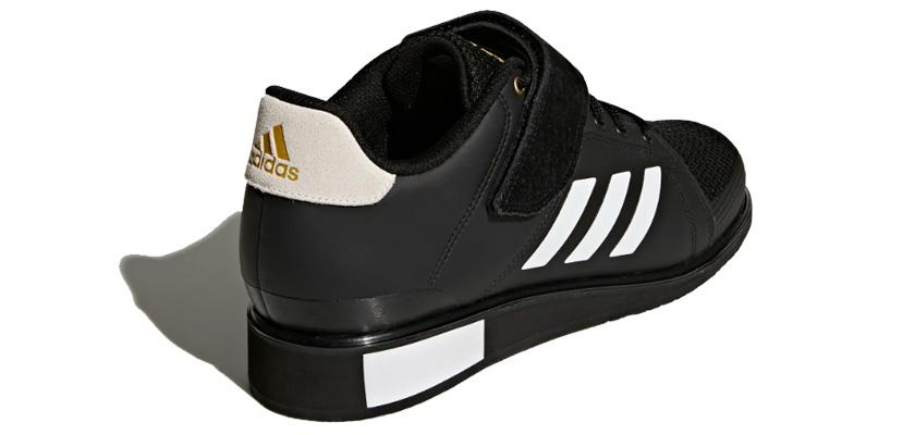 Adidas Power Perfect 3, talón