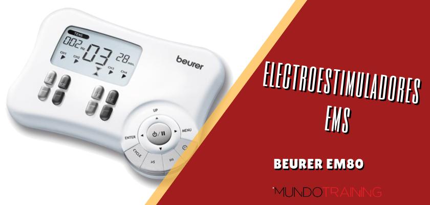 Electroestimuladores en el entrenamiento de runners - Beurer EM80