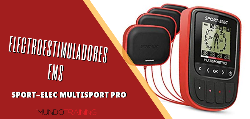 Electroestimuladores en el entrenamiento de runners - Sport-Elec Multisport Pro