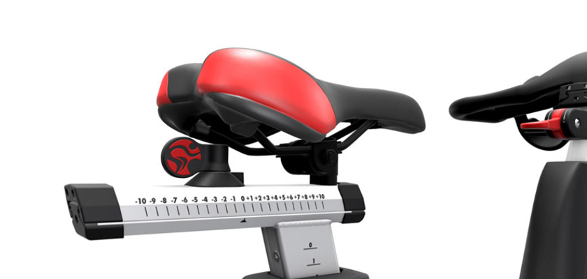 Life Fitness IC5, asiento