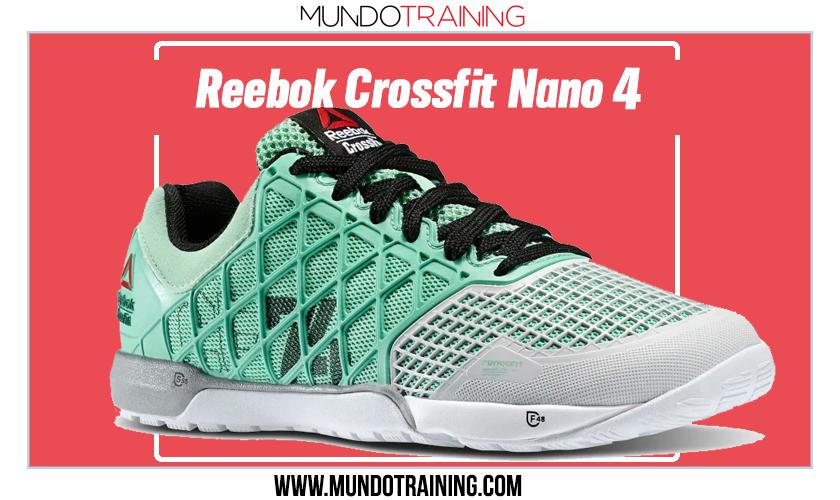 Mejores zapatillas de Crossfit de Reebok - Crossfit Nano 4.0