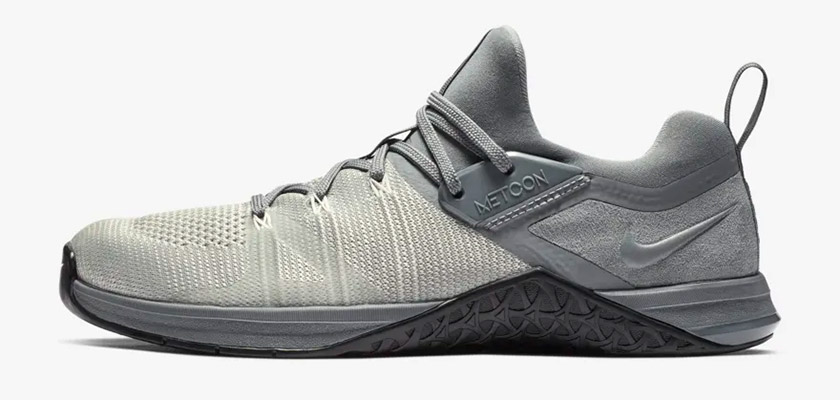 Nike Metcon DSX Flyknit 3, colores: Gris azulado/Negro - foto 4