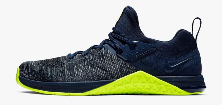 Nike Metcon DSX Flyknit 3, colores: Obsidiana/Voltio - foto 7