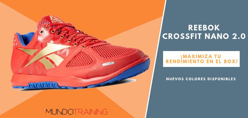 Reebok CrossFit NANO, zapatillas optimizadas para tus entrenos - Reebok CrossFit Nano 2