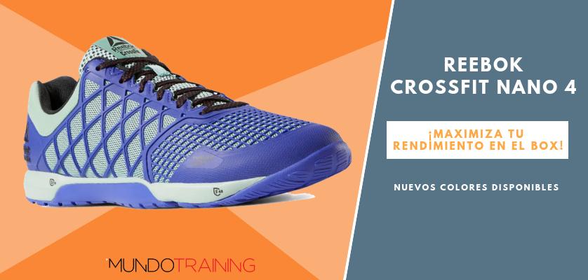 Reebok CrossFit NANO, zapatillas optimizadas para tus entrenos - Reebok CrossFit Nano 4