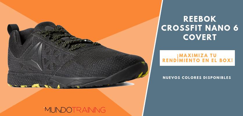 Reebok CrossFit NANO, zapatillas optimizadas para tus entrenos - Reebok CrossFit Nano 6 Covert
