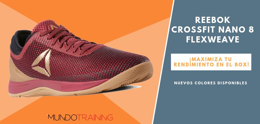 Reebok CrossFit NANO, zapatillas optimizadas para tus entrenos - Reebok CrossFit Nano 8 Flexweave