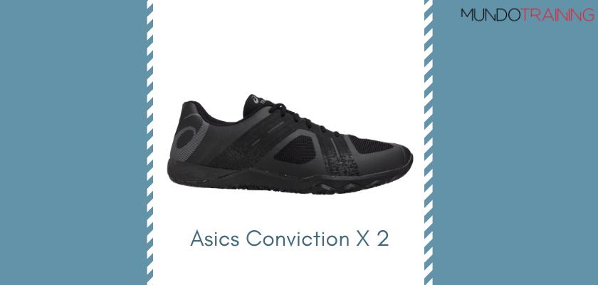 Las mejores zapatillas de entrenamiento 2019 de Asics Conviction X 2