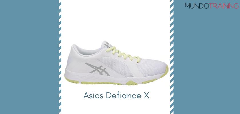 Las mejores zapatillas de entrenamiento 2019 de Asics Defiance X