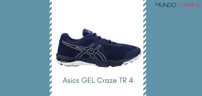 Las mejores zapatillas de entrenamiento 2019 de Asics GEL Craze TR 4
