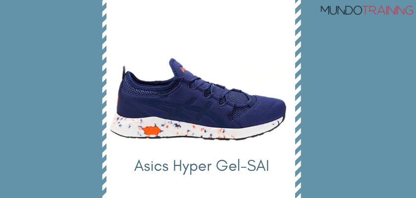 Las mejores zapatillas de entrenamiento 2019 de Asics Hyper Gel-SAI