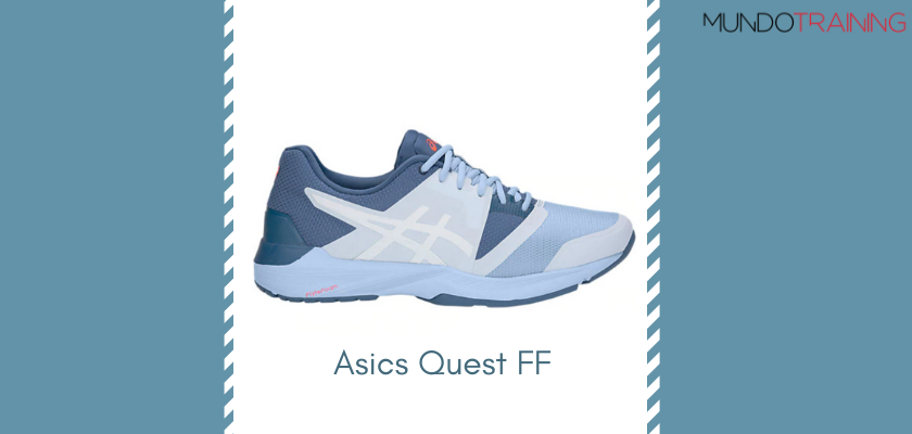 Las mejores zapatillas de entrenamiento 2019 de Asics Quest FF
