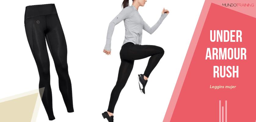 Colección textil Under Armour Rush - Leggings UA RUSH para mujer