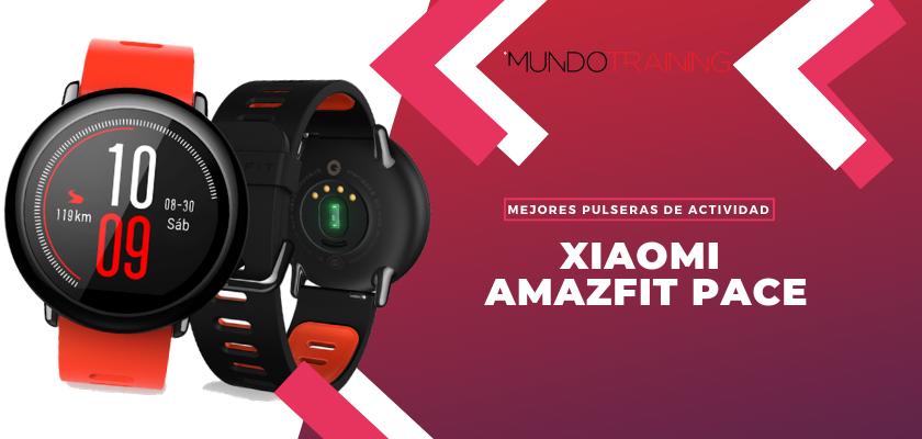 Los mejores pulseras de actividad para fitness - Xiamoi Amazfit Pace