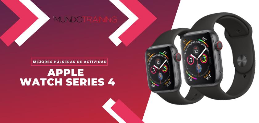 Los mejores pulseras de actividad para fitness - Apple Watch Series 4