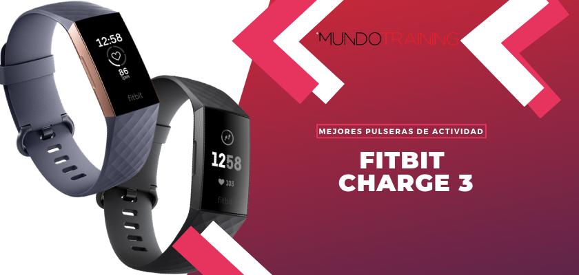 Los mejores pulseras de actividad para fitness - Fitbit Charge 3