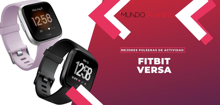 Los mejores pulseras de actividad para fitness - Fitbit Versa
