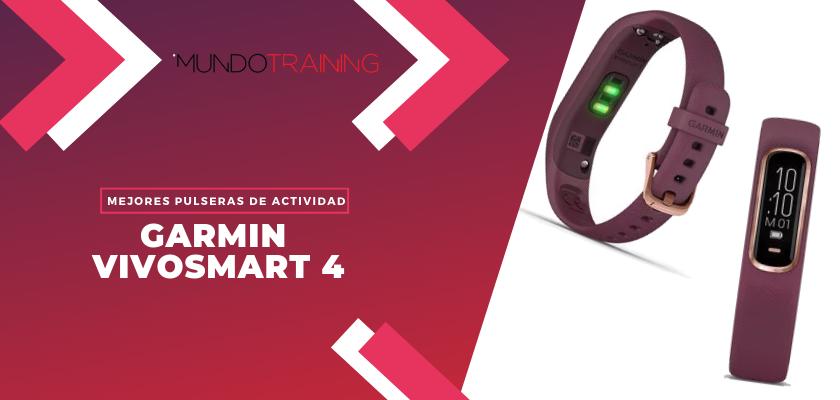 Los mejores pulseras de actividad para fitness - Garmin Vivosmart 4
