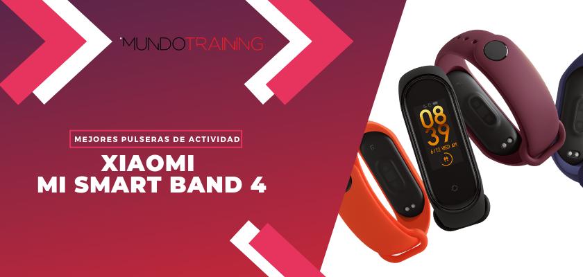 Los mejores pulseras de actividad para fitness - Xioami Mi Smart Band 4
