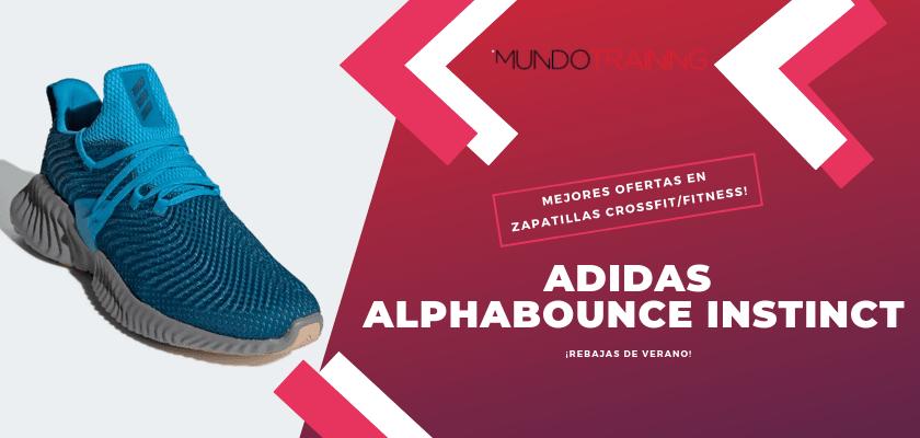 Las mejores descuentos en tiendas online en zapatillas CrossFit/Fitness - Adidas Alphobounce Instict