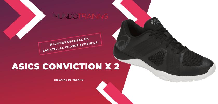 Las mejores descuentos en tiendas online en zapatillas CrossFit/Fitness - ASICS Conviction X 2