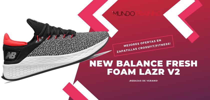 Las mejores descuentos en tiendas online en zapatillas CrossFit/Fitness - New Balance Fresh Foam Lazr v2