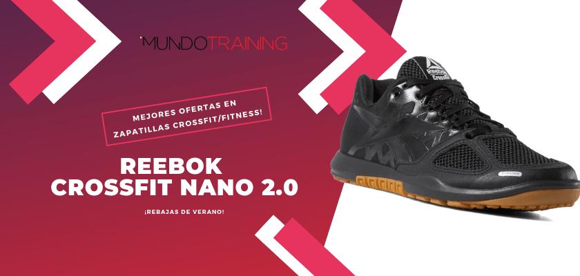 Las mejores descuentos en tiendas online en zapatillas CrossFit/Fitness - Reebok CrossFit Nano 2.0