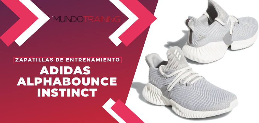 Las 6 zapatillas de entrenamiento adidas Alphabounce - adidas Alphabounce Instinct