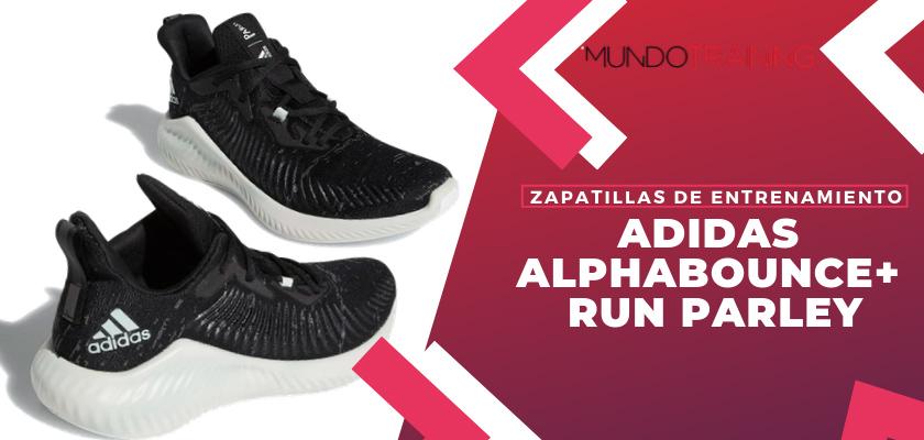 Las 6 zapatillas de entrenamiento adidas Alphabounce - adidas Alphabounce+ Run Parley
