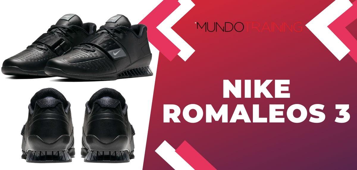 8 zapatillas de training Nike más vendidas del mes de noviembre, Nike Romaleos 3