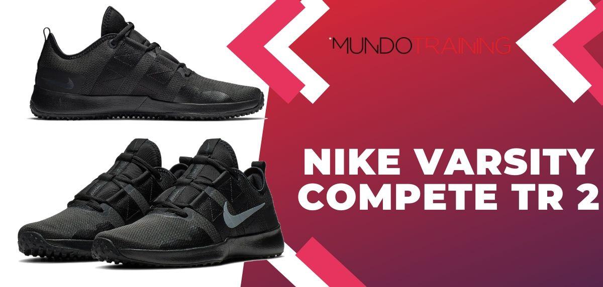 8 zapatillas de training Nike más vendidas del mes de noviembre, Nike Varsity Compete TR 2