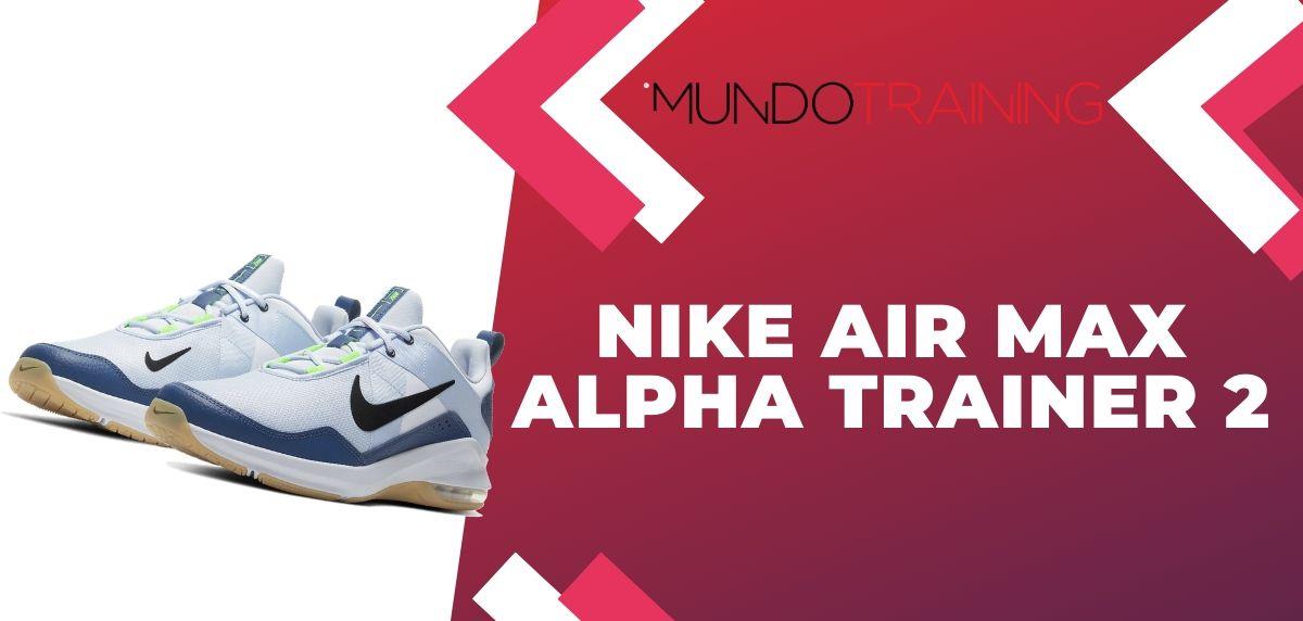 Rebajas Nike: ¡Disfruta de hasta un 50% de descuento en zapatillas training!, Nike Air Max Alpha Trainer 2