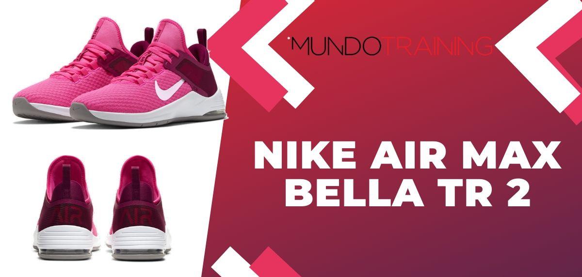Rebajas Nike: ¡Disfruta de hasta un 50% de descuento en zapatillas training!, Nike Air Max Bella TR 2