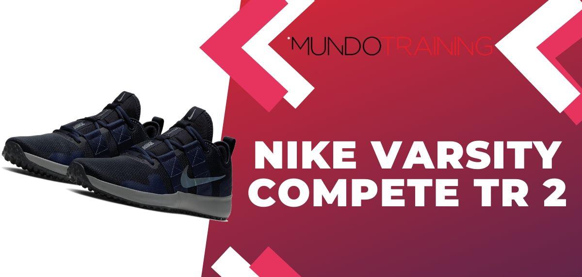 Rebajas Nike: ¡Disfruta de hasta un 50% de descuento en zapatillas training!, Nike Varsity Compete TR 2