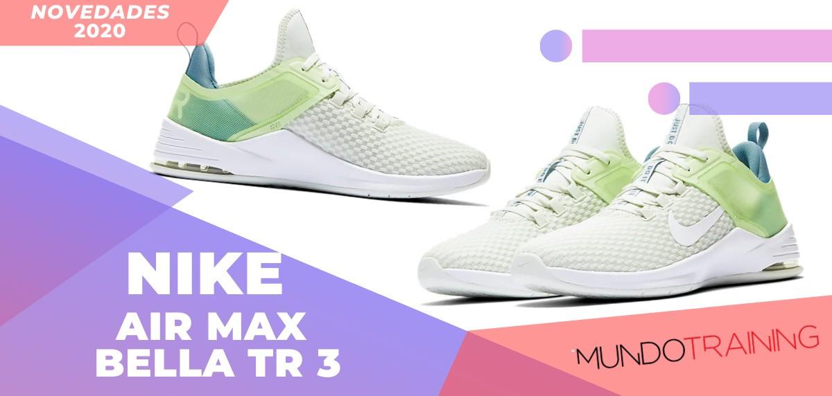Zapatillas de entrenamiento Nike, novedades 2020 - Nike Air Max Bella TR 3