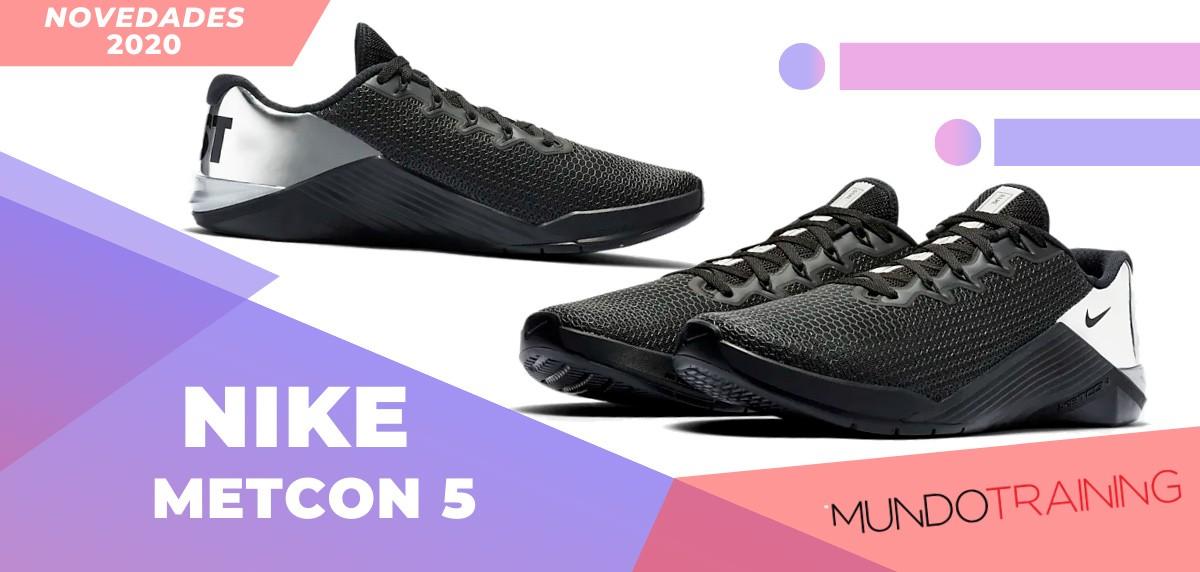 Zapatillas de entrenamiento Nike, novedades 2020 - Nike Metcon 5