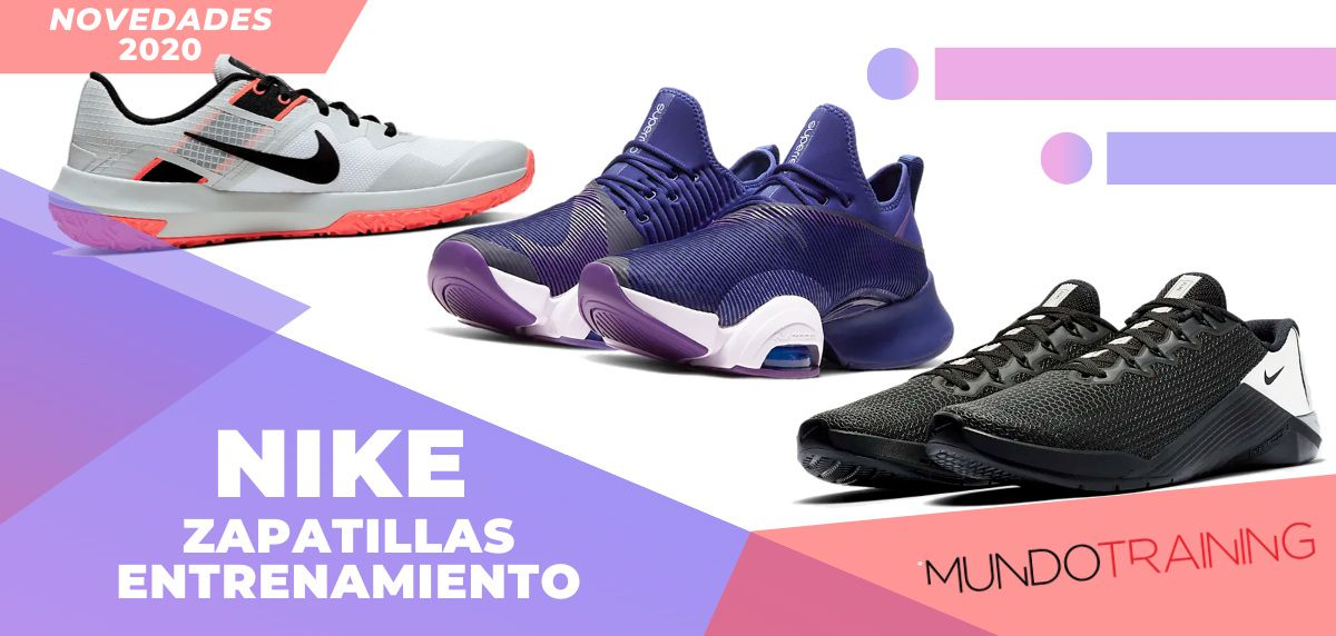 Tregua capturar Comprimir  Novedades 2020 en zapatillas de entrenamiento Nike