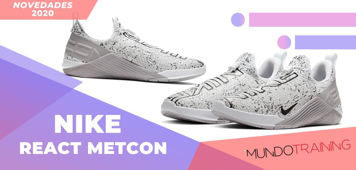 Zapatillas de entrenamiento Nike, novedades 2020 - Nike React Mecton