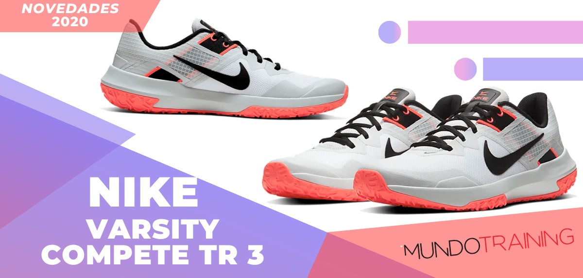 Zapatillas de entrenamiento Nike, novedades 2020 - Nike Varsity Compete TR 3