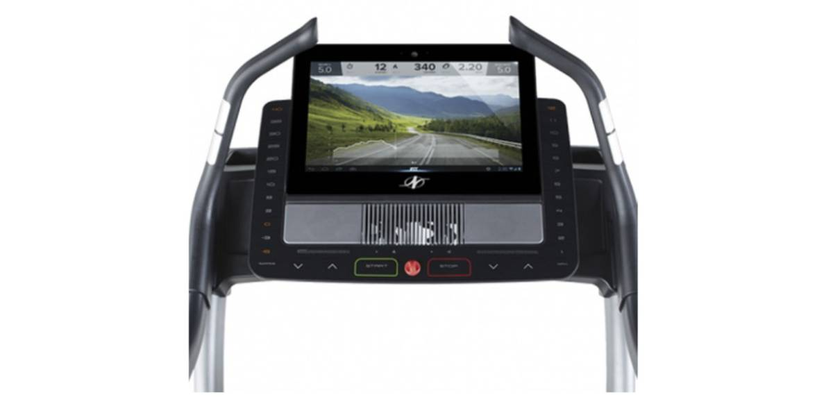 NordicTrack X22i Incline Trainer, monitor